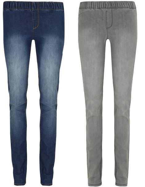 jeans de blanco