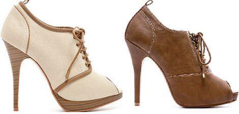 20 zapatos de blanco