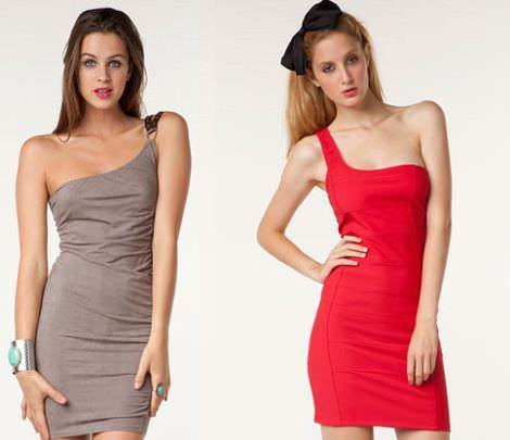 vestidos bershka otoño 2011