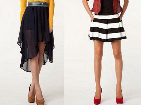 faldas de bershka
