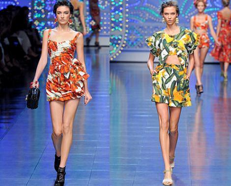 dolce & gabbana primavera verano 2012