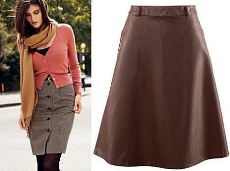 faldas de h&m