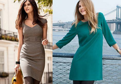 vestidos H&M otoño 2011