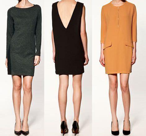 vestidos zara otoño 2011