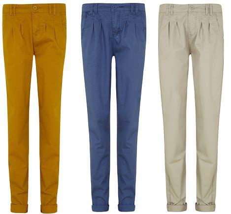 pantalones de blanco