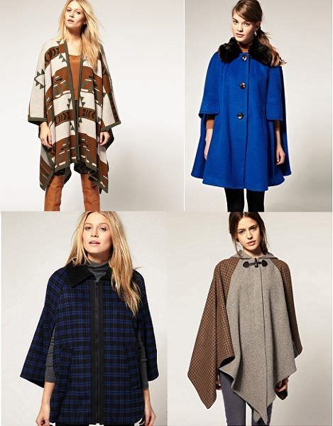 abrigos del otoño 2011: capas