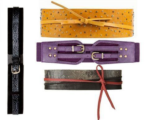 cinturones de moda otoño 2011: fajines