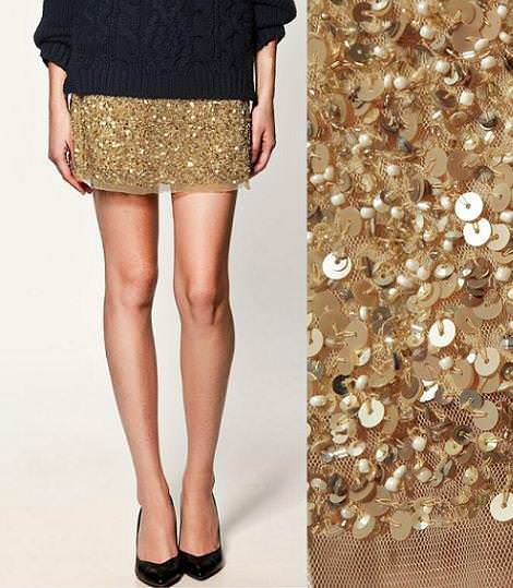 faldas de lentejuelas