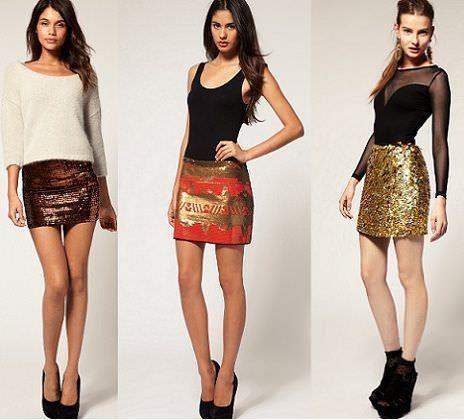 5cb813618 Faldas de lentejuelas | demujer moda