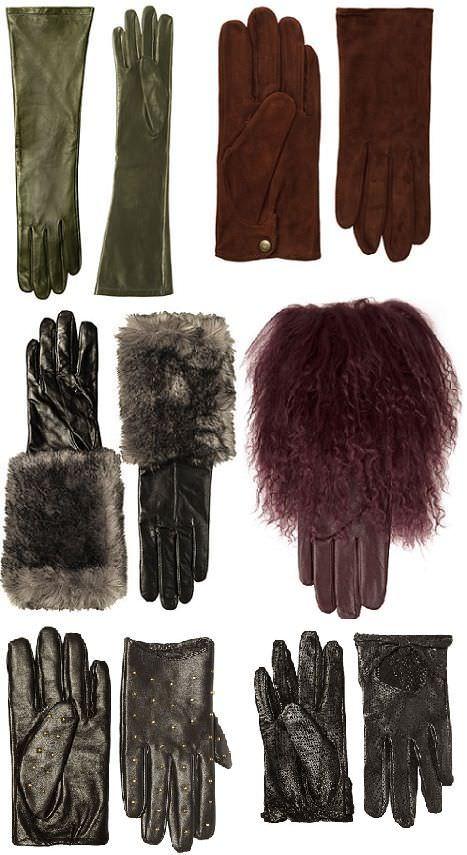 guantes de zara