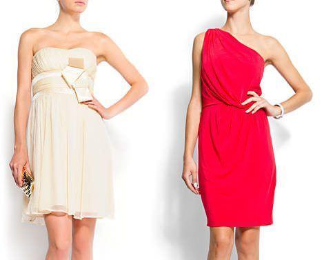 vestidos de coctel otoño 2011