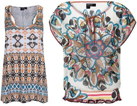 tendencias otono 2011: estilo navajo