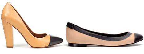 zapatos con puntera