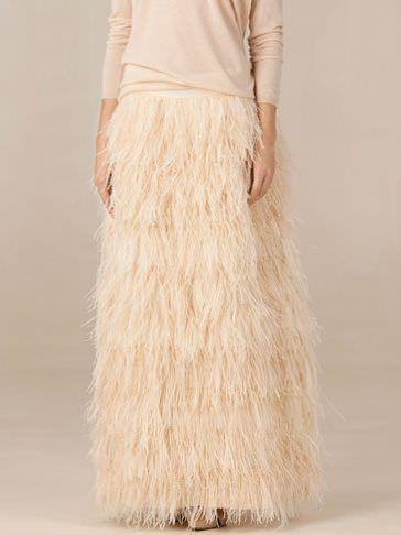 faldas de plumas: un clásico que no falla