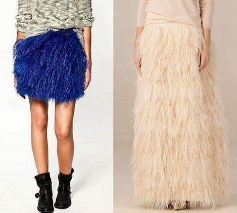 805e5d282 Faldas de plumas: un clásico que no falla | demujer moda