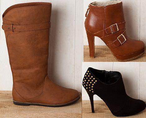 nuevas botas y botines de Pull and Bear