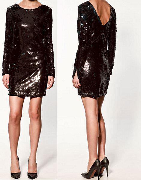los 5 mejores vestidos de fiesta de zara