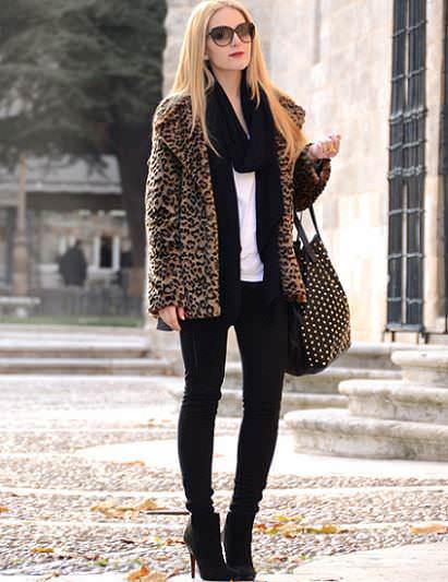 abrigos de leopardo para todas