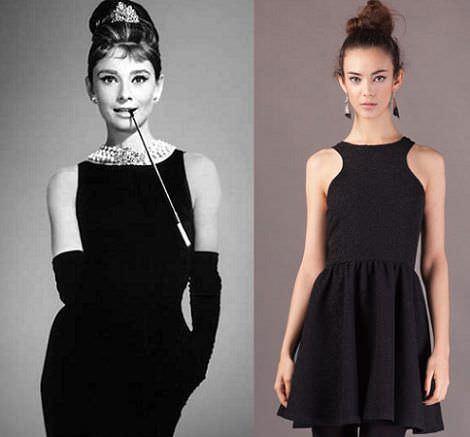 las 5 claves para convertir tu vestido negro en un vestido de fin de año ideal