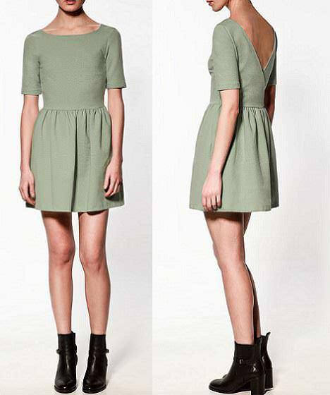 el nuevo color de moda de la temporada es el verde
