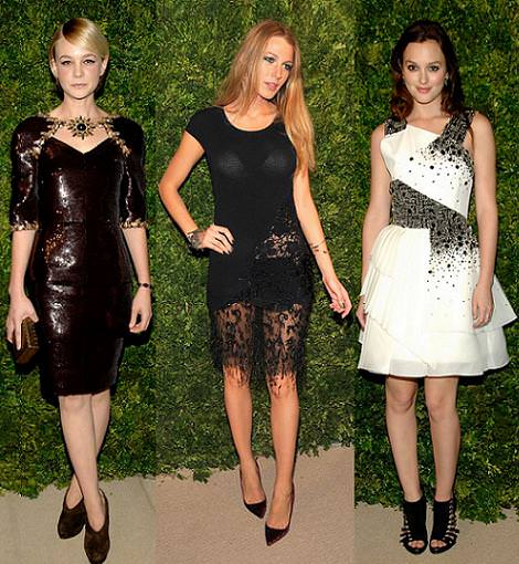 CFDA/Vogue Fashion Fund Awards 2010: Blake Lively, Leighton Meester, Carey Mulligan