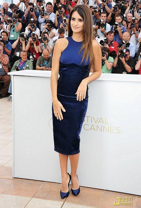 Penélope Cruz en Cannes 2011