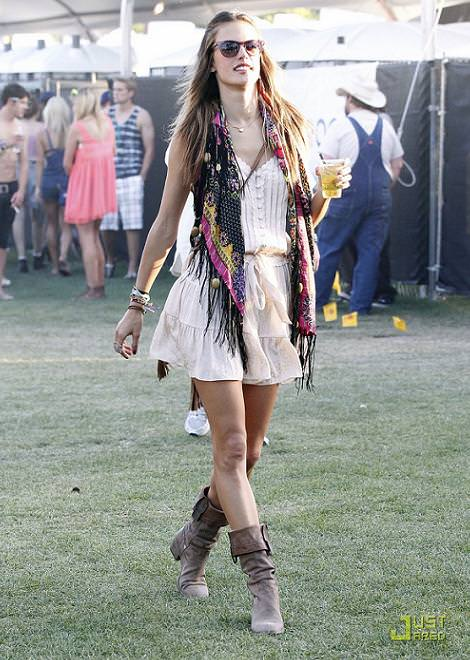 Coachella 2011, looks de festivales