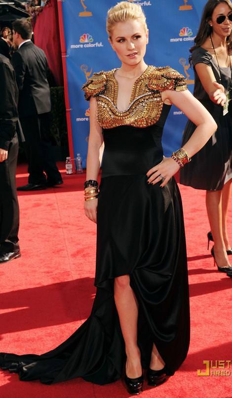 Alfombra roja: Premios Emmy 2010