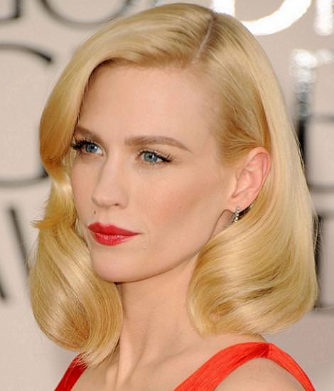 Peinados y maquillaje: Globos de Oro 2011