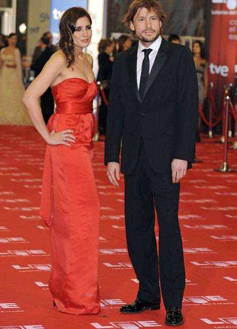 Alfombra roja de los Goya 2011