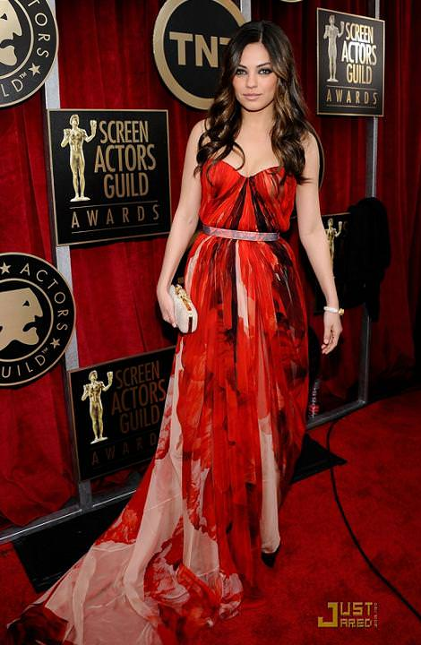 Alfombra roja Globos de Oro 2011