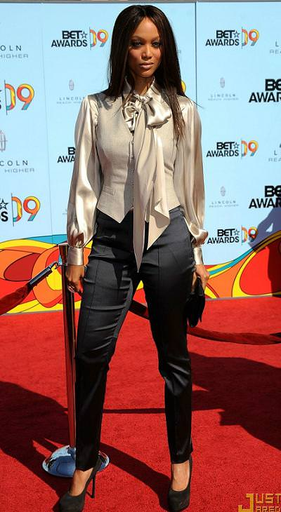 Tyra Banks estaba muy elegante
