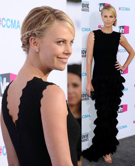 Alfombra roja de los Critics Choice Movie Awards: Charlize Theron y otras it girls