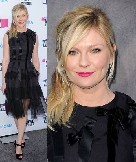 Alfombra roja de los Critics Choice Movie Awards: Kirsten Dunst y otras it girls