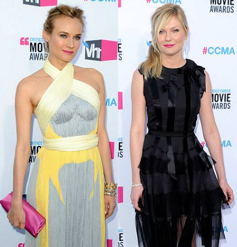 Alfombra roja de los Critics Choice Movie Awards: Diane Kruger y otras it girls