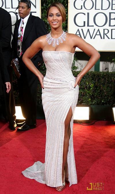 Beyonce, globos de oro 2009