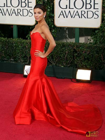 Eva Longoria, globos de oro 2009