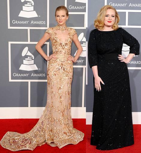 Alfombra roja Grammy 2012