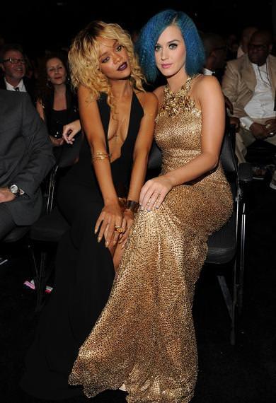 Alfombra roja Grammy 2012 Katy Perry