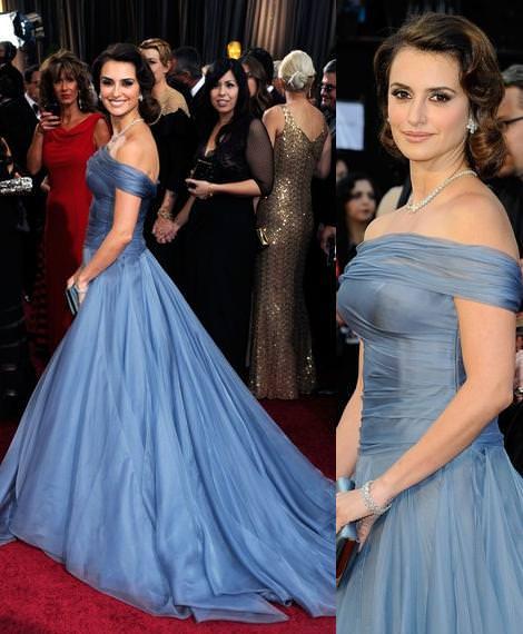 Alfombra roja de los Oscar 2012 Penelope Cruz