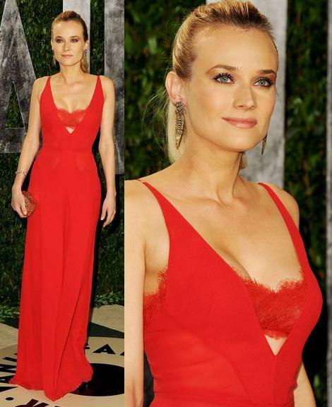 Los Oscar Fiesta Vanity Fair 2012 Diane Kruger