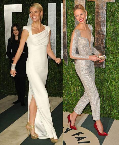 Los Oscar Fiesta Vanity Fair 2012 Gwyneth Paltrow y Karolina Kurkova