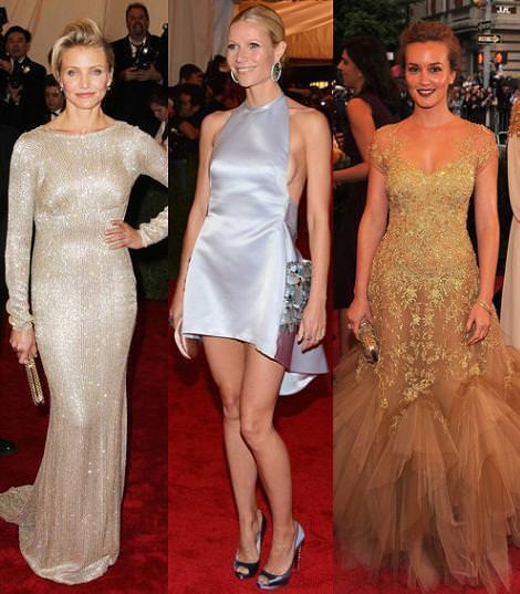 Alfombra roja MET 2012: Cameron Díaz, Gwyneth Paltrow y Leighton Meester