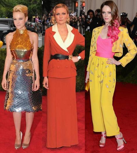 Alfombra roja MET 2012: Carey Mulligan, Kirsten Dunst y Coco Rochas