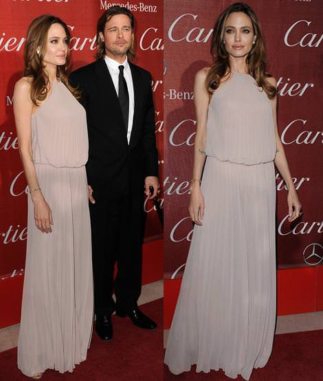 Alfombra roja de Palm Springs: Angelina Jolie