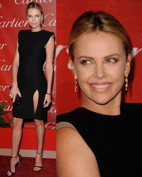 Alfombra roja de Palm Springs: Charlize Theron