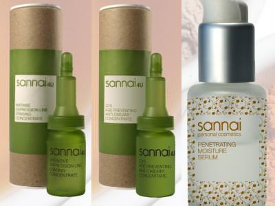 Serums de Sannai para prevenir arruguitas