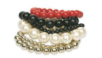 collares, pendientes y pulseras para navidad