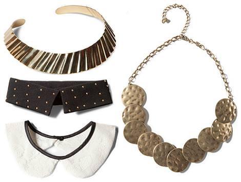 Moda primavera verano 2012 : collares de Pull and Bear