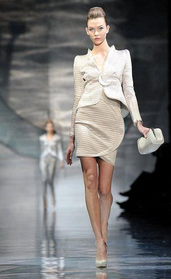 Armani Prive, alta costura primavera verano 2010
